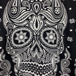 DOM Shirts - dom Sugar Skull Day of the Dead Black T Shirt M